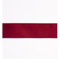 Декоративная репсовая лента bordo