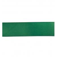 Декоративная репсовая лента green