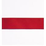 Декоративная репсовая лента red