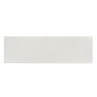 Декоративная репсовая лента white