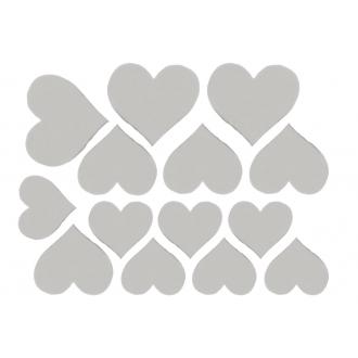 Декоративные сердечки (Цвет : Cеребро)