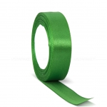 Декоративная атласная лента green