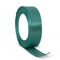 Декоративная атласная лента turquoise