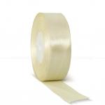 Декоративная атласная лента crema