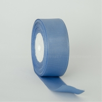 Декоративная репсовая лента Lite blue