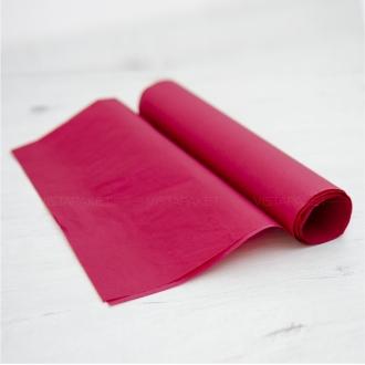 Бумага тишью бордовая