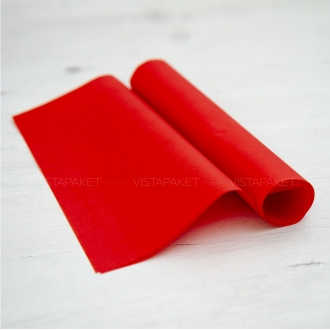 Бумага тишью красный