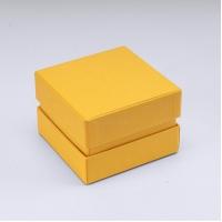 Коробка 7 x 7 x 5 см жовта
