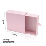 Коробка 9 x 9 x 3 см слайдер