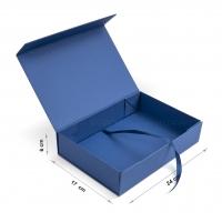 Коробка 24x17x6 см darkblue