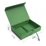 Коробка 24x17x6 см green