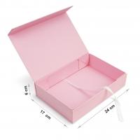 Коробка 24x17x6 см rose