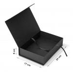Коробка 24x17x6 см Black