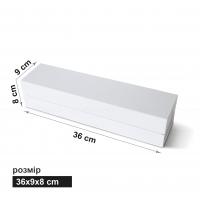 Коробка пенал  36 x 9 x 8 см белый