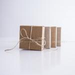 Коробка + лента 8x8x3 см