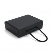 Коробка 17x4.5x13 см  матовая черная