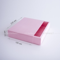 Коробка + лента 24x18x5 см