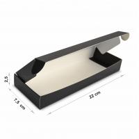 Коробка 22x7,5x2,5 см Black
