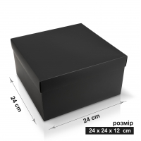 Коробка 24x24x12 см