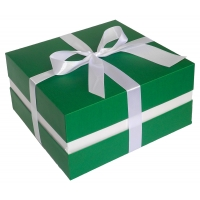 Коробка + лента  25х25х12 см
