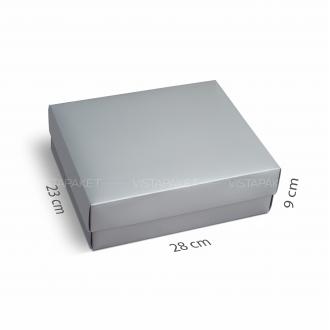Подарочная коробочка из картона 28x23x9 см