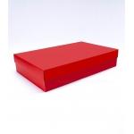 Коробка 40x25x8 см красная