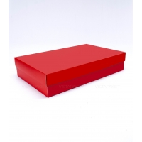 Коробка 40x25x8 см Червона