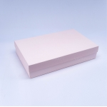 Коробка 40x25x8 см ніжно рожева