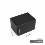 Коробка 17x12x10 см черная