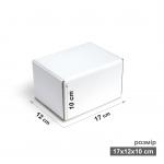 Коробка 17x12x10 см белая