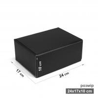 Коробка 17x24x10 см черная