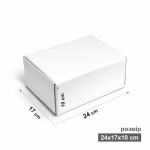 Коробка 17x24x10 см белая