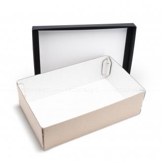 Коробочка из гофрокартона 40x25x12 см
