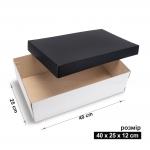 Коробка 40x25x12 см black