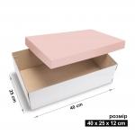 Коробка 40x25x12 см rose