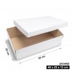 Коробка 40x25x12 см white
