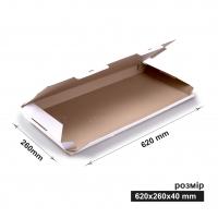 Коробка 65x26x4 см белая