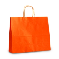 Пакет крафтовый 32х28х13 см Orange