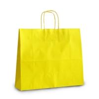 Пакет крафтовый 32х28х13 см yellow