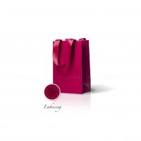 Пакет бумажный 15*23*8 см винный Emboss, структура 18