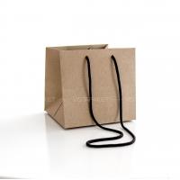 Пакет крафт-картон 19x18x18 см