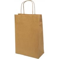 Пакет крафтовый 20х25х9 см