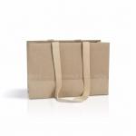 Пакет крафт-картон 32x21x13 см