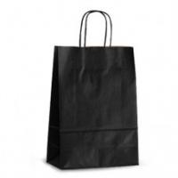 Пакет крафтовый 23x32x10 см черный