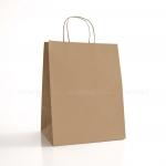 Пакет крафтовый бурый 25,5х33,5х20 см