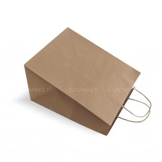 Пакет крафтовый с большим дном