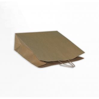 Пакет крафтовый подарочный с крученными ручками