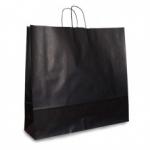 Пакет крафтовый  черный 54х50х14 см