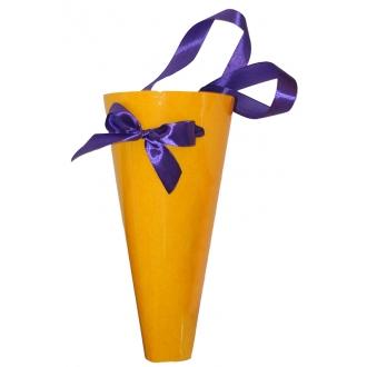 Пакет бумажный для цветов d50, D180,  H-285 мм