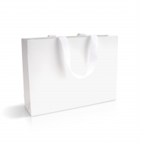 Пакет бумажный 35х25х9 см с лентой